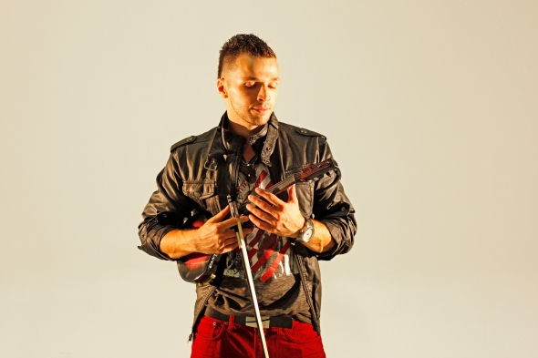 SVET the Violinist Video Shoot 2